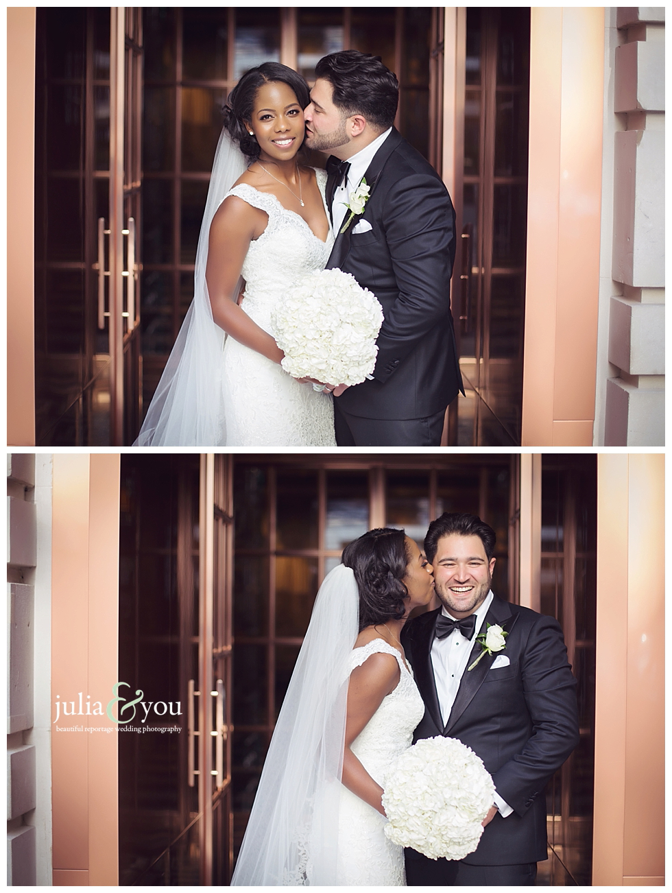 Whitney and Stamatis' London wedding at The Rosewood Hotel